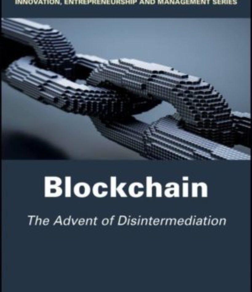 Blockchain : l'avènement de la désintermédiation publié en français et en anglais chez Wiley