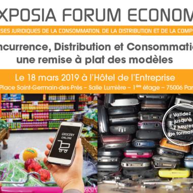 #Blockchain ! Enjeux et responsabilités -Cas pratique dans l'univers agroalimentaire – LEXPOSIA FORUM ECONOMIE 18/03 – PARIS